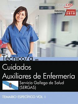 TÉCNICO/A EN CUIDADOS AUXILIARES DE ENFERMERA. SERVICIO GALLEGO DE SALUD (SERGAS). TEMARIO ESPECFI