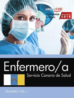 ENFERMERO/A. SERVICIO CANARIO DE SALUD. TEMARIO VOL. I