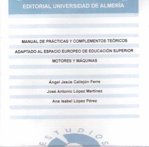 MANUAL DE PRÁCTICAS Y COMPLEMENTOS TEÓRICOS ADAPTADO AL ESPACIO EUROPEO DE EDUCACIÓN SUPERIOR.