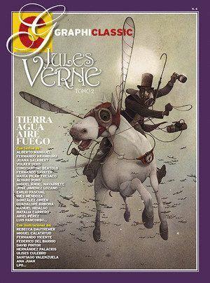 JULES VERNE TOMO 2: TIERRA, AGUA, AIRE, FUEGO.