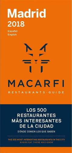 GUIA MACARFI 2018 MAD/BCN
