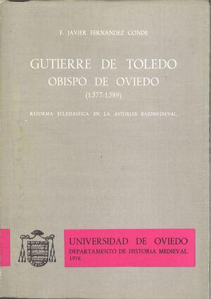 GUTIERRE DE TOLEDO. OBISPO DE OVIEDO (1377-1389)