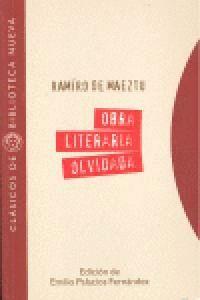 OBRA LITERARIA OLVIDADA (1897-1900)