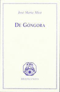 DE GÓNGORA