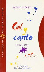 CAL Y CANTO - ALBERTI,R.