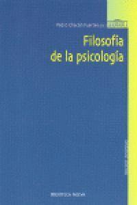 FILOSOFA DE LA PSICOLOGA