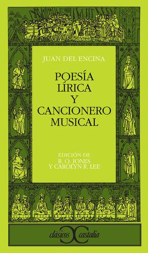 POESÍA LÍRICA Y CANCIONERO MUSICAL                                              .