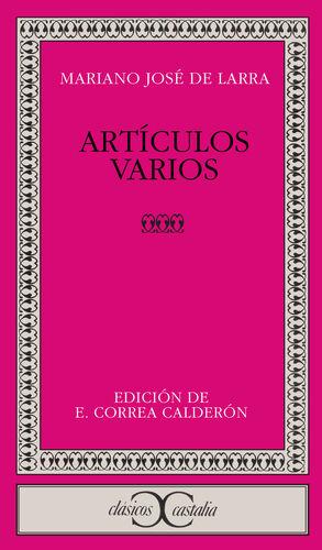 ARTÍCULOS VARIOS                                                                .