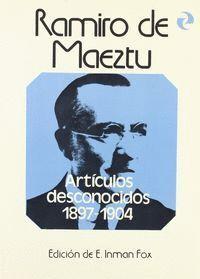 ARTÍCULOS DESCONOCIDOS   (1897-1904)                                                       .