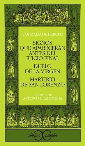 SIGNOS QUE APARECERÁN ANTES DEL JUICIO FINAL                                    .