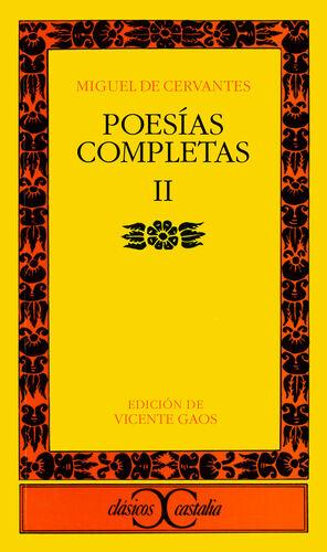 POESÍAS COMPLETAS, II                                                           .
