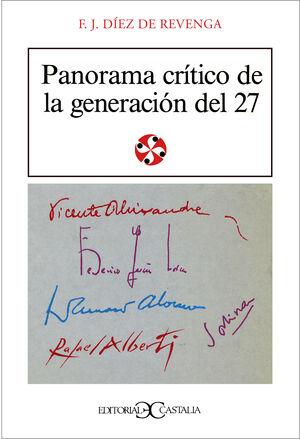 PANORAMA CRÍTICO DE LA GENERACIÓN DE 1927                                       .