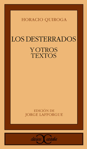 LOS DESTERRADOS Y OTROS TEXTOS                                                  .