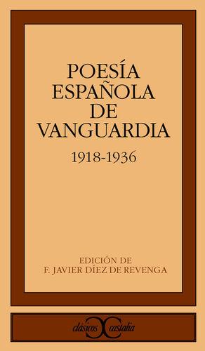 POESÍA ESPAÑOLA DE VANGUARDIA (1918-1936)                                       .