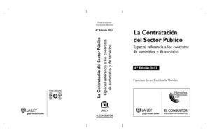 LA CONTRATACIÓN DEL SECTOR PÚBLICO