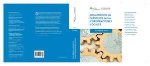 REGLAMENTO DE SERVICIOS DE LAS CORPORACIONES LOCALES (3.ª EDICIÓN)