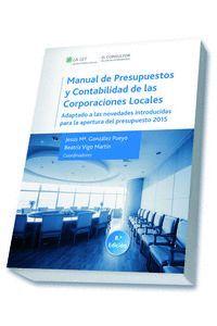 MANUAL DE PRESUPUESTOS Y CONTABILIDAD DE LAS CORPORACIONES LOCALES (8.ª EDICIÓN)