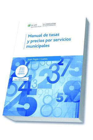 MANUAL DE TASAS Y PRECIOS POR SERVICIOS MUNICIPALES