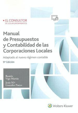 MANUAL DE PRESUPUESTOS Y CONTABILIDAD DE LAS CORPORACIONES LOCALES (9.ª EDICIÓN)