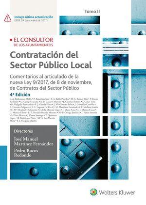CONTRATACIÓN DEL SECTOR PÚBLICO LOCAL. TOMO II (4.ª EDICIÓN)