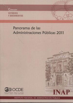 PANORAMA DE LAS ADMINISTRACIONES PÚBLICAS 2011