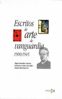 ESCRITOS DE ARTE DE VANGUARDIA