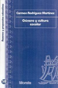 GÉNERO Y CULTURA ESCOLAR