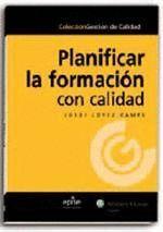 PLANIFICAR LA FORMACIÓN CON CALIDAD