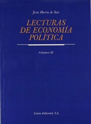 LECTURAS DE ECONOMÍA POLÍTICA. TOMO III