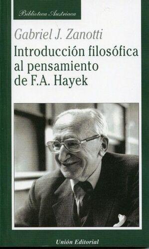 INTRODUCCIÓN FILOSÓFICA AL PENSAMIENTO DE F.A. HAYEK