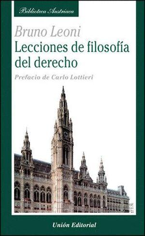 LECCIONES DE FOLOSOFIA DEL DERECHO