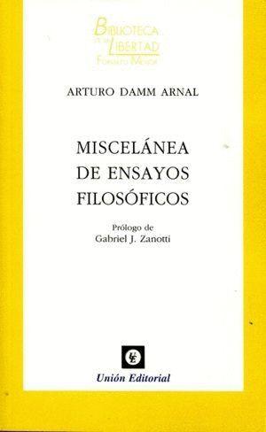MISCELANEA DE ENSAYOS FILOSOFICOS