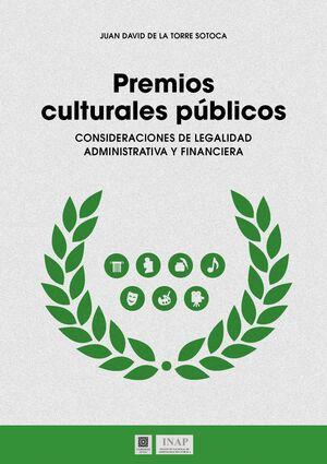 PREMIOS CULTURALES PUBLICOS