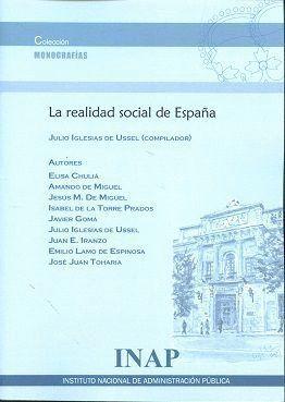 LA REALIDAD SOCIAL DE ESPAÑA