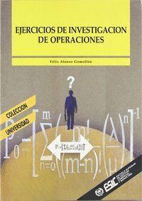 EJERCICIOS DE INVESTIGACIÓN DE OPERACIONES