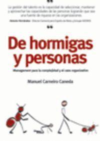 DE HORMIGAS Y PERSONAS