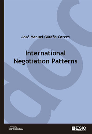 INTERNATIONAL NEGOTIATION PATTERNS