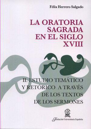 ORATORIA SAGRADA EN EL SIGLO XVIII. II.