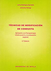 TÉCNICAS DE MODIFICACIÓN DE CONDUCTA.
