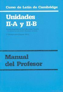 CURSO DE LATÍN DE CAMBRIDGE LIBRO DEL PROFESOR II-A Y II-B
