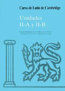 CURSO DE LATÍN DE CAMBRIDGE LIBRO DEL ALUMNO UNIDAD II-A Y II-B