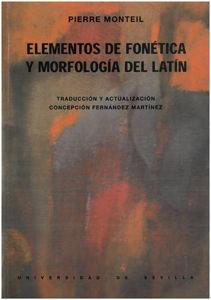 ELEMENTOS DE FONÉTICA Y MORFOLOGÍA DEL LATÍN