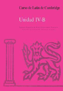 CURSO DE LATÍN DE CAMBRIDGE LIBRO DEL ALUMNO IV-B