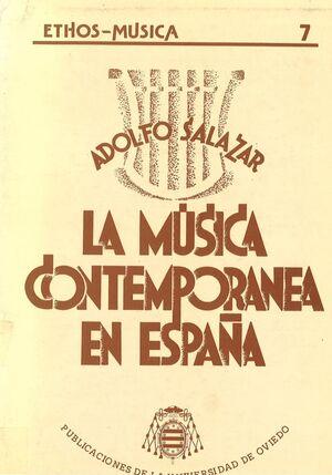 LA MÚSICA CONTEMPORÁNEA EN ESPAÑA