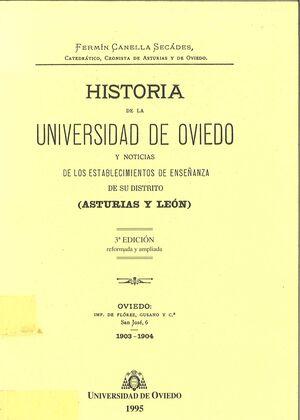 HISTORIA DE LA UNIVERSIDAD DE OVIEDO