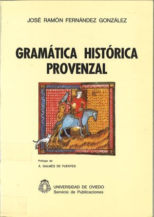 GRAMÁTICA HISTÓRICA PROVENZAL