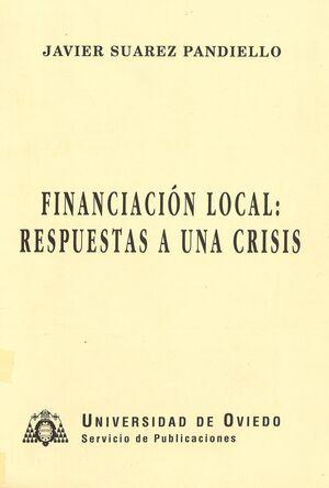 FINANCIACIÓN LOCAL: RESPUESTAS A UNA CRISIS