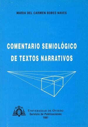 COMENTARIO SEMIOLÓGICO DE TEXTOS NARRATIVOS