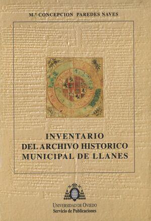INVENTARIO DEL ARCHIVO HISTÓRICO MUNICIPAL DE LLANES