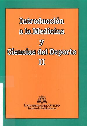 INTRODUCCIÓN A LA MEDICINA Y CIENCIAS DEL DEPORTE I
